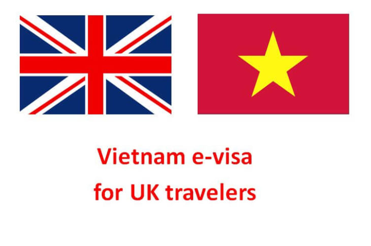 how to get vietnam visa from british