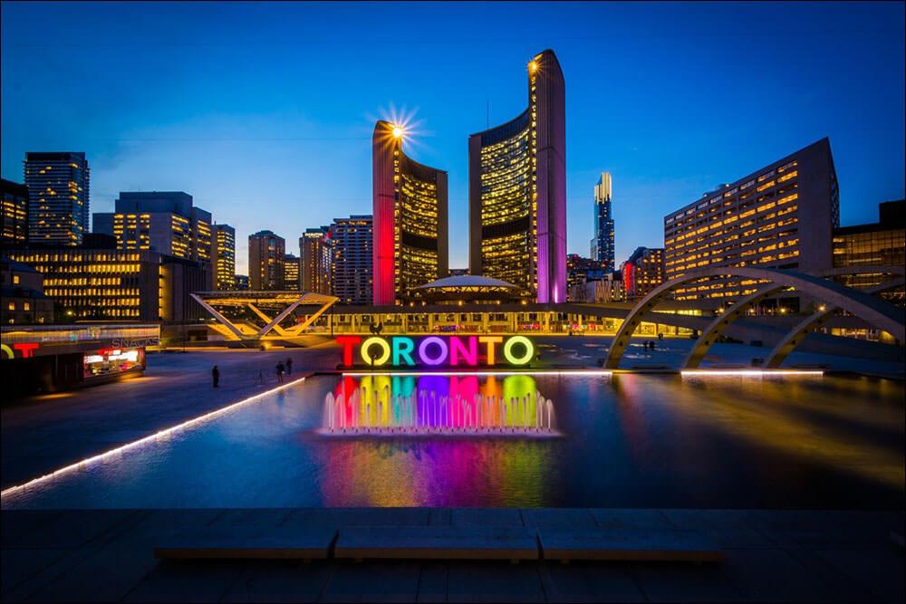 Thanh pho Toronto