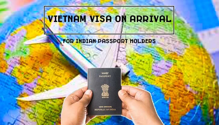 Vietnam visa on arrival for Indian citizens