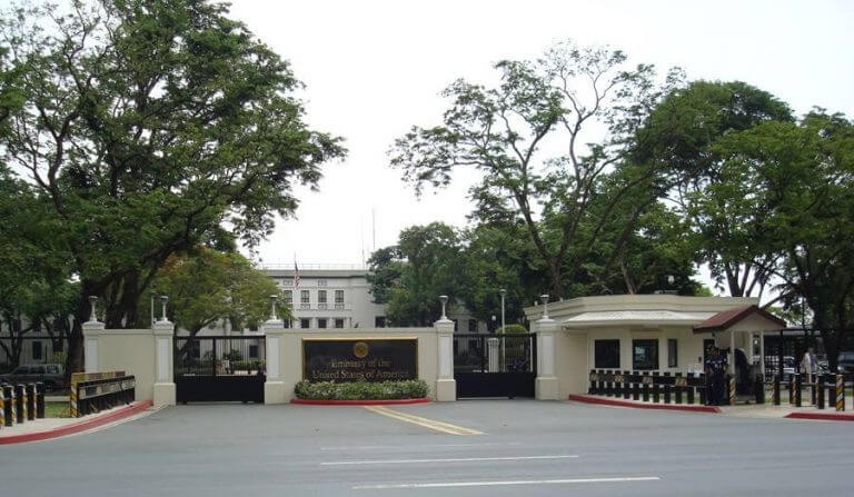 What is the address of Vietnam Embassy for US citizens?