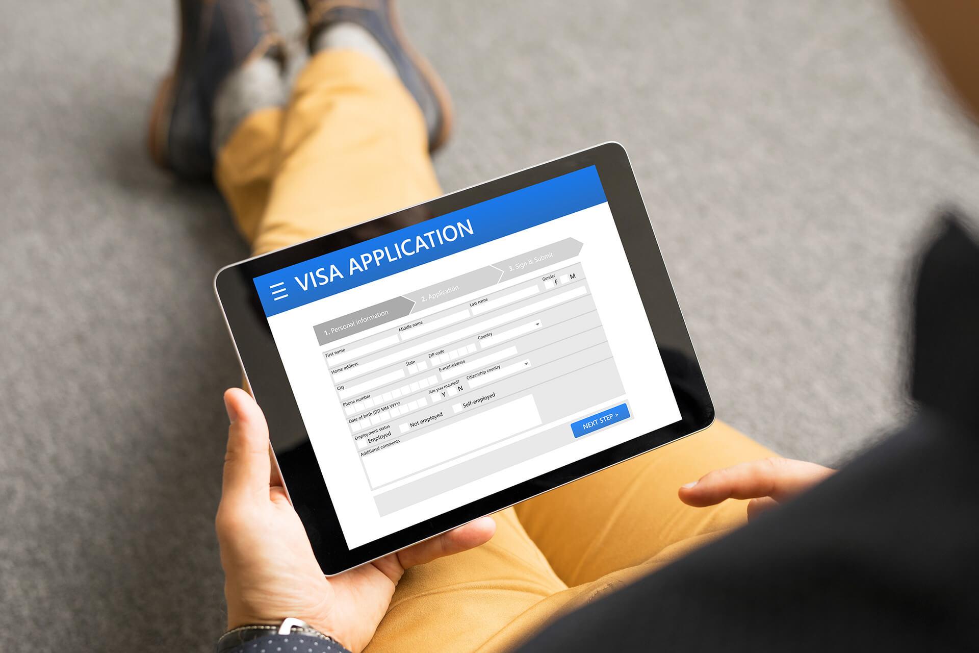 5 phút khảo sát kiểm tra tỷ lệ đậu visa