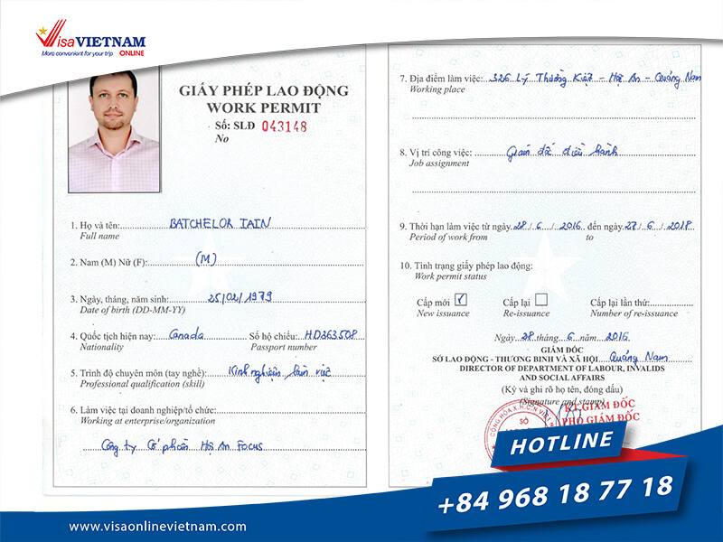 Vietnam visa Requirements for foreigners in Hong Kong