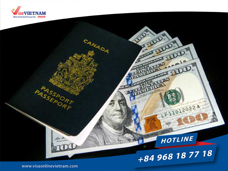 How much do Vietnam visa fees for Canadian citizens cost?
