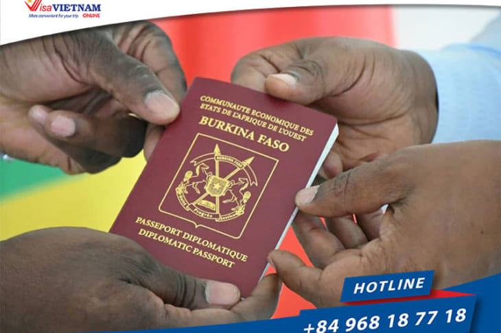 How to get Vietnam visa on arrival in Burkina Faso?