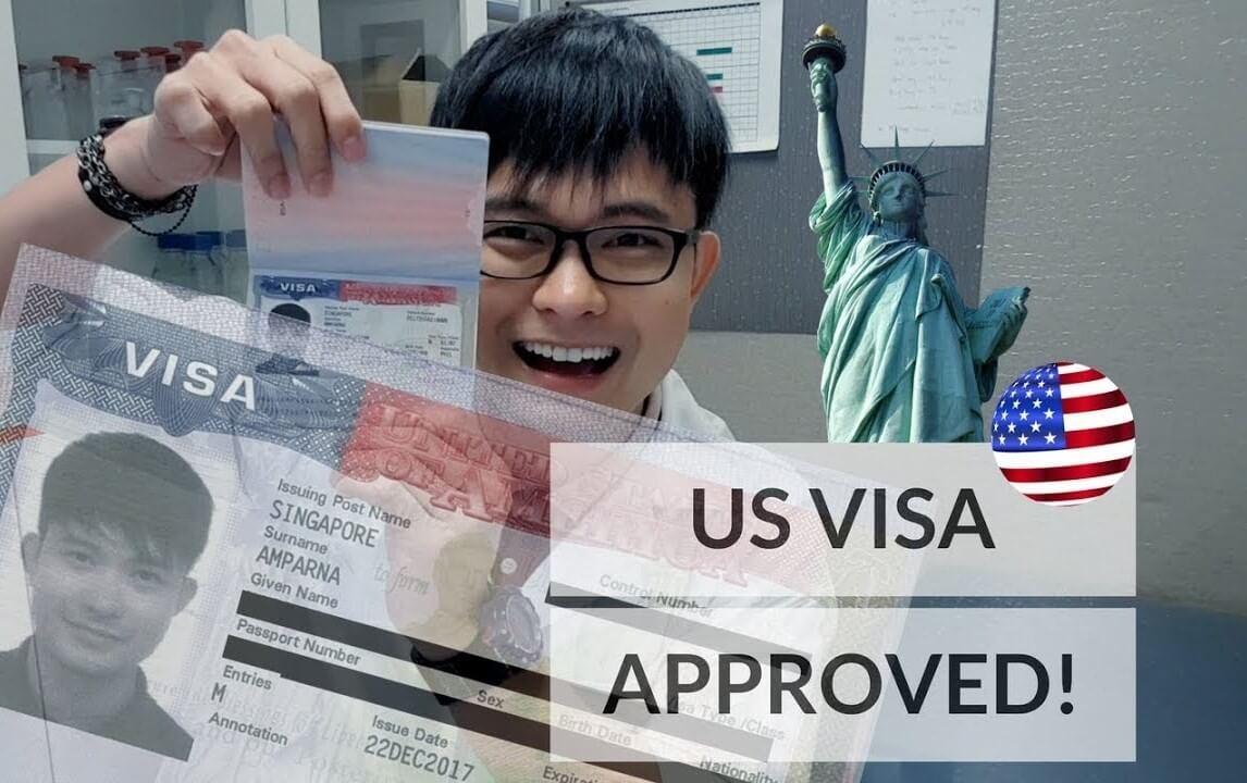 thủ tục đi du lịch Mỹ thăm thân nhân