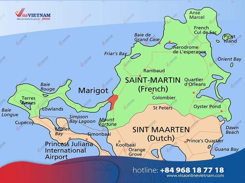 How to get Vietnam visa on Arrival in Saint Martin?