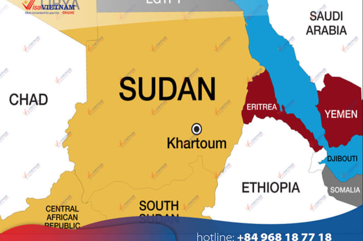 How to get Vietnam visa on Arrival in Sudan?