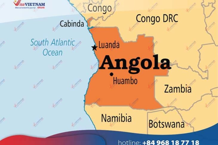 How to get Vietnam visa in Angola? - Visto para o Vietnã em Angola