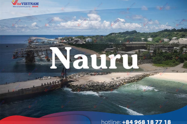 How many ways to get Vietnam visa in Nauru?