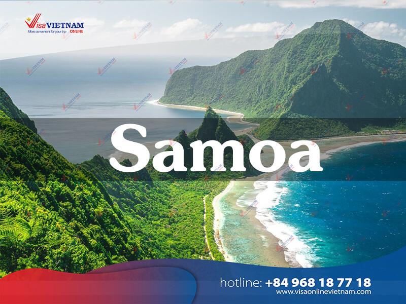 How to get Vietnam visa in Samoa? - Visa Vietnam i Samoa